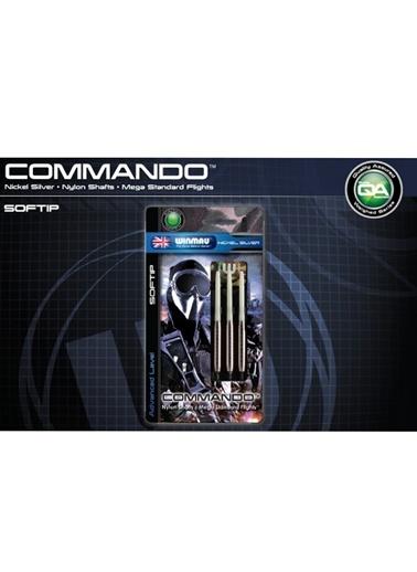 Commando Nickel Silver Plastik Uçlu Dart-20 Gram-Winmau